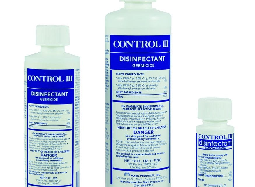 Control III CPAP Disinfectant