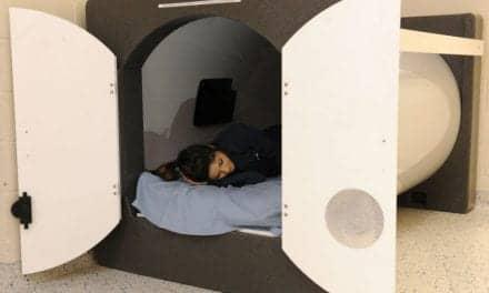 Sleep Pod Arrives at TAMU-CC
