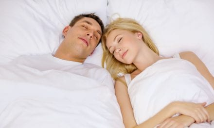 Happy Couples Sleep with Less Space Between Them
