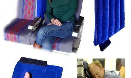 War Veteran Invents Ultra-portable Travel Pillow