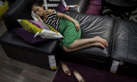 Ikea In China Turns Its Stores Into One Giant Nap Room – Possibly The Best Idea Ever