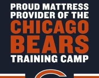 Tempur-Pedic Provides Mattresses to Chicago Bears Training Camp