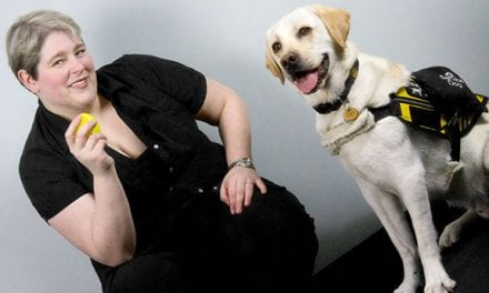 Service Dogs Support Narcolepsy Patients, Literally and Figuratively