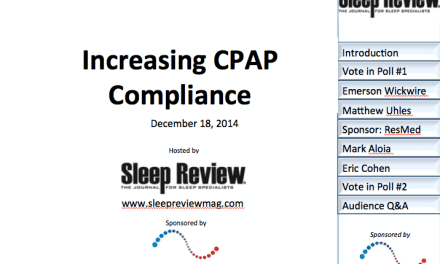 On-Demand Webcast: Increasing CPAP Compliance