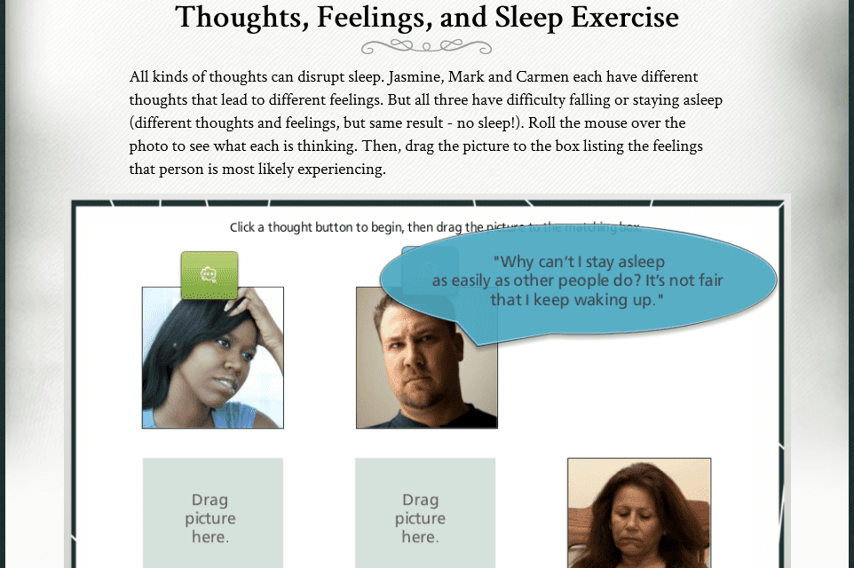 Online Insomnia Treatment SHUTi Also Reduces Depression