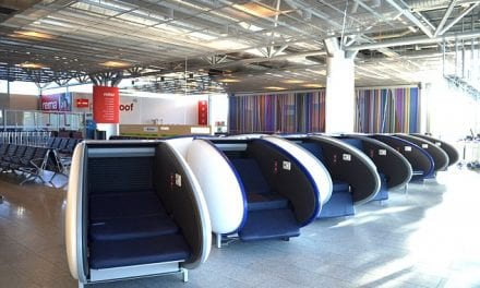 Helsinki Airport Becomes First in Europe to Offer Sleeping Pods with Retractable Covers to Block Light and Noise