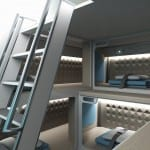 The Luxury Cabin Crew Beds That Beat First Class! New Plane Design Unveils Individual Pods Where Staff Can Sleep In-Flight