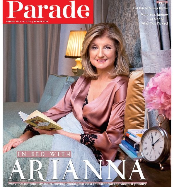 In Parade, Arianna Huffington Shares Her 6 Tips for Getting More Sleep