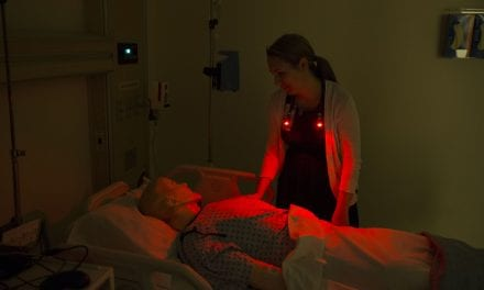 Can a Colored Bulb Promote Sleep in the Hospital?