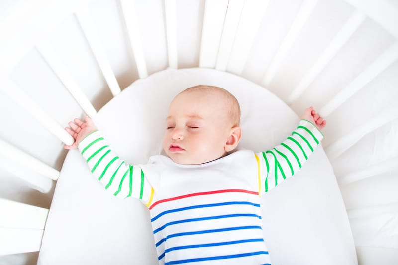 Unsafe Newborn Sleep Influenced By Family Traditions
