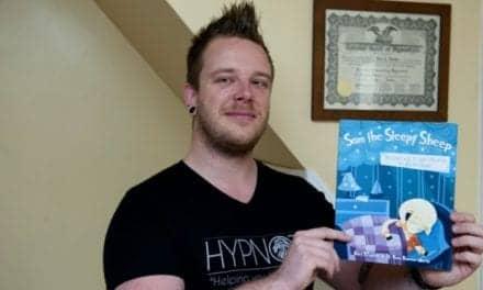 Lynn Hypnotist Develops Book to Help Children to Go to Sleep