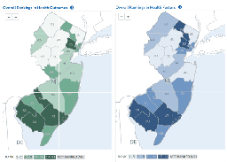 In New Jersey, Wealth is Health, According to Report Being Released Today