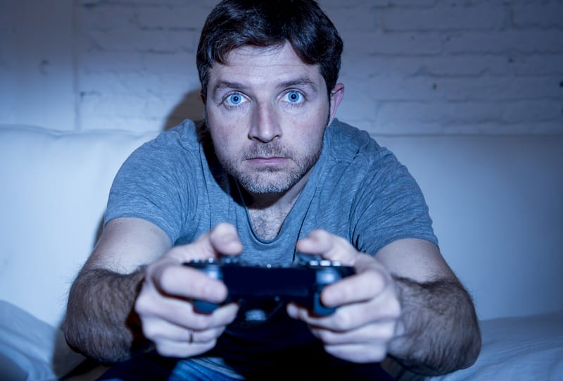 Video Game Addiction Leads to Sleep Loss, Obesity, and Cardiovascular Risk in Some Gamers