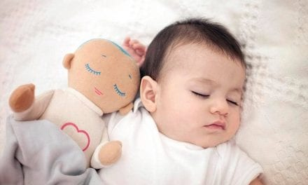Toy Designed with a Heartbeat and Breathing Sounds to Help Your Baby Sleep Better