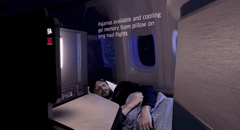 United to Launch Sleep-Focused Front-Cabin Service On Intercontinental Flights