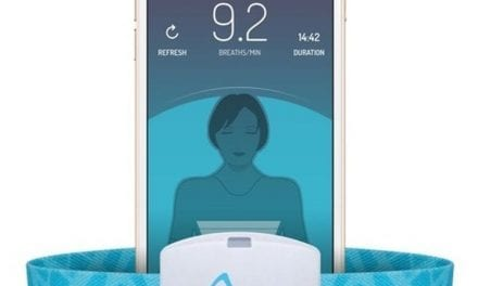 2breathe Guided-breathing Technology Device for Sleep Onset