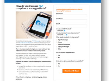 American Association of Sleep Technologists Revive Declining Membership with HubSpot