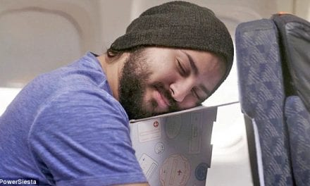 Could this Cardboard Box Help You Sleep on a Plane?