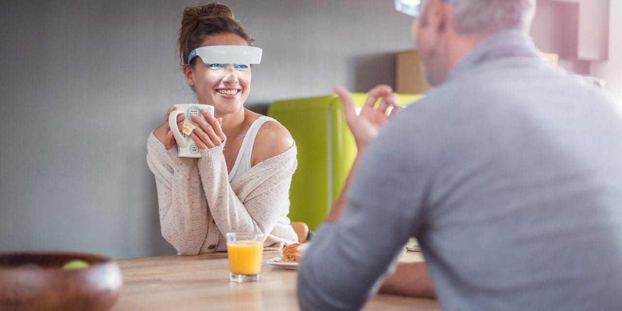 Light-Emitting Glasses Envision Sleep Disorder Therapy for Patients on the Go