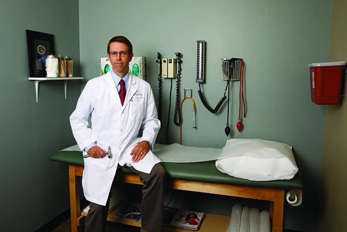 Nerve-Calming Influencer: John P. Sullivan, MD