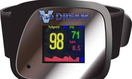 VirtuOx VPOD Dream Pulse Oximeter That Records Body Position
