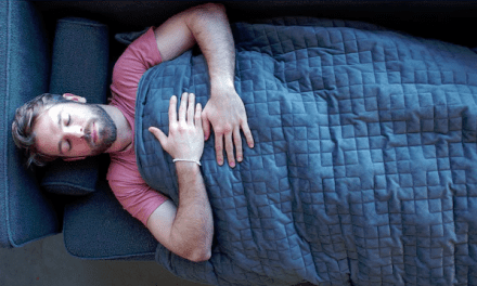 This 25-Pound Blanket Could Help You Sleep Through The Night
