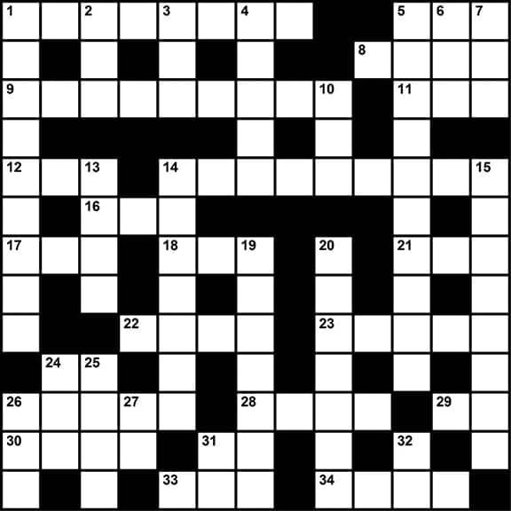 Crossword Puzzle Sleep Medicine Themed Clues May 2017 Sleep Review