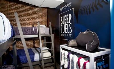 BEDGEAR Unveils Newly Designed Sleep Room At Fenway Park