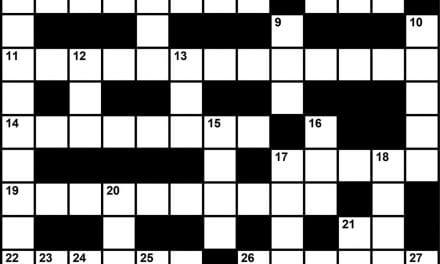 Crossword Puzzle: Sleep Medicine-Themed Clues (August/September 2017)