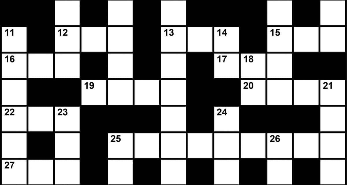 Crossword Puzzle: Sleep Medicine-Themed Clues (January 2018) | Sleep Review