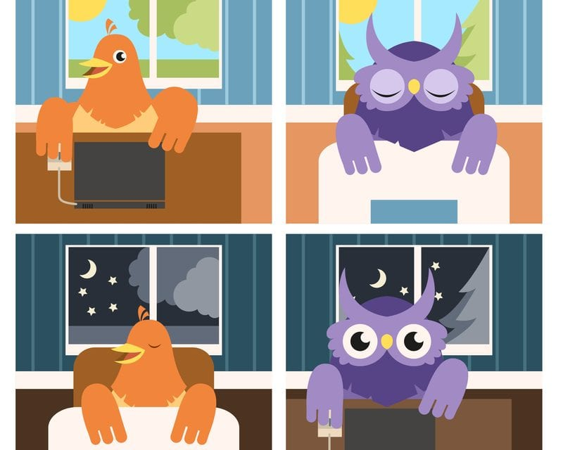 """""""Night Owl"""" Chronotypes Have 10% Higher Risk of Dying Sooner than Morning Counterparts"""