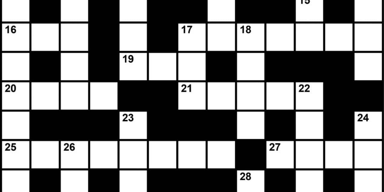 Crossword Puzzle: Sleep Medicine-Themed Clues (May 2018)