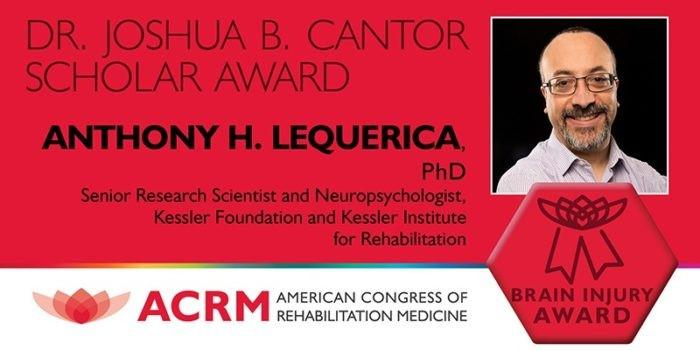Cognitive Scientist Wins Award for Research on Relationship Between Insomnia and Fatigue After Traumatic Brain Injury