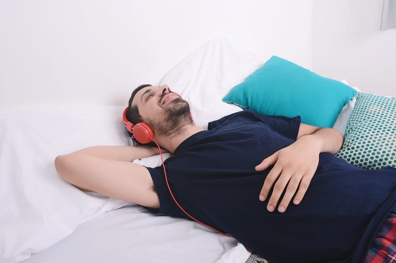 Listening to Yoga Music at Bedtime Is Good for the Heart