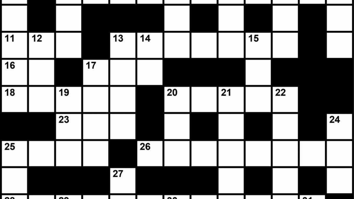 Crossword Puzzle Sleep Medicine Themed Clues November 2018 Sleep Review