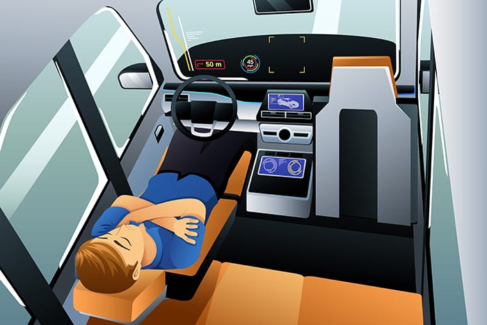 Will Self-Driving Cars Help a Chronically Sleep-Deprived America?