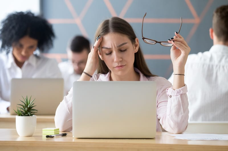 74% of Employees Tired on the Job