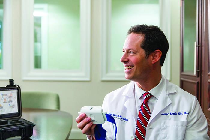 The Doctor Is Online: Joseph Krainin, MD, FAASM