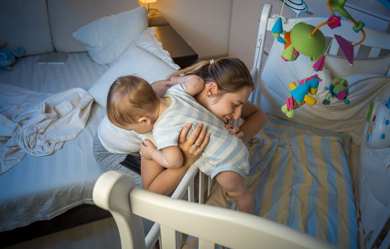Parents Shouldn't Worry if Their Infant Doesn't Sleep Through the Night by 6-12 Months of Age