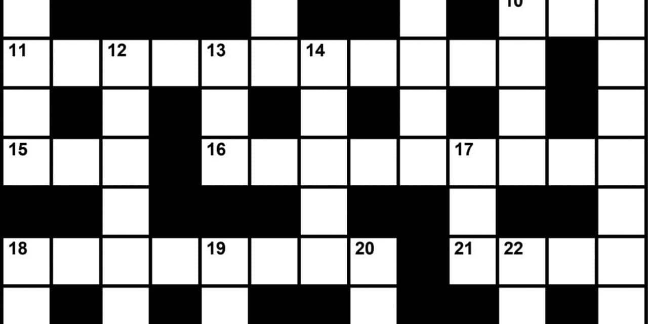 Crossword Puzzle Sleep Medicine Themed Clues March 2019 Sleep Review