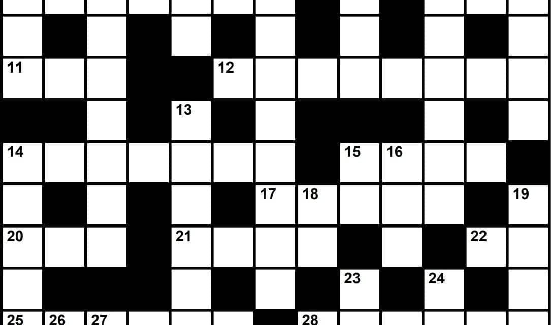 Crossword Puzzle Sleep Medicine Themed Clues August 2019 Sleep Review