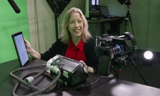 Lights, Camera, CPAP!: St. Louis Health System Creates Video Education for Sleep Patients