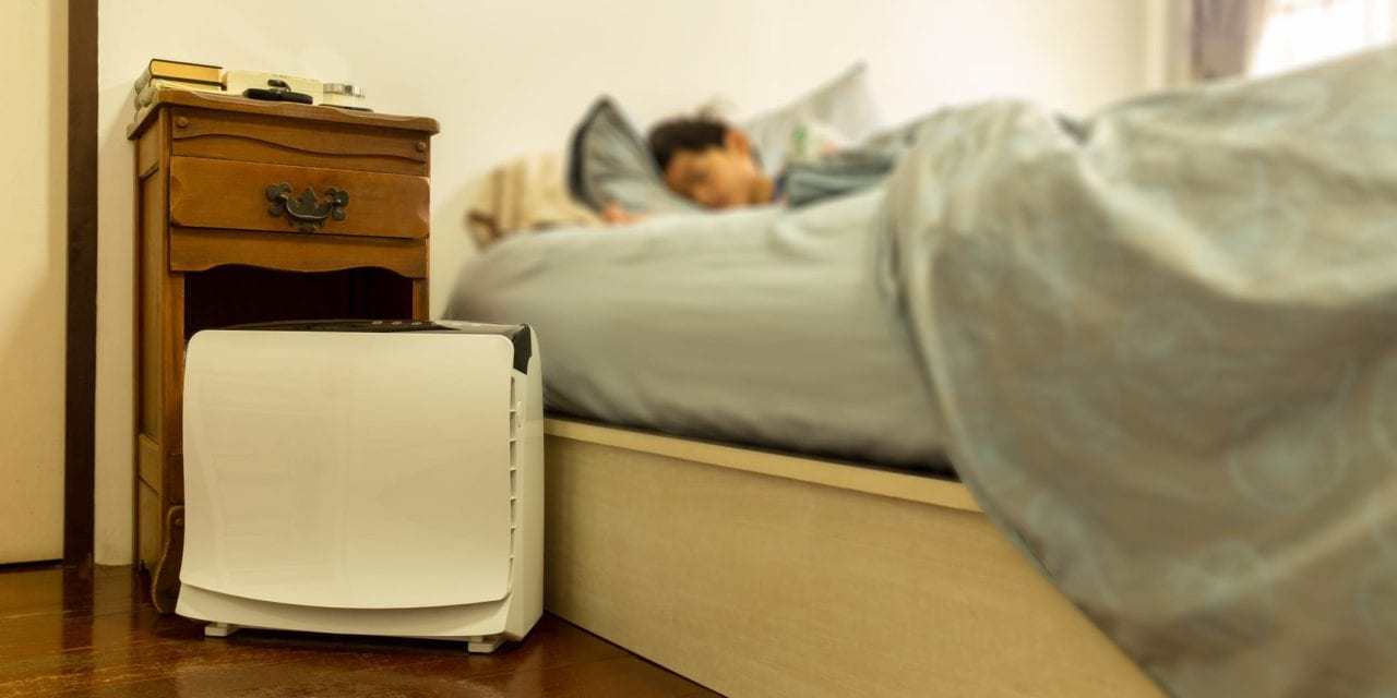 Air Filters in the Bedroom and Airway Resistance