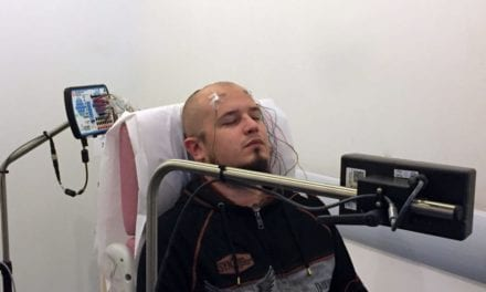 Tattoo Electrodes Modified for EEG Use