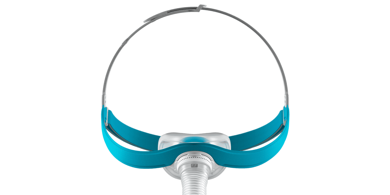 Fisher & Paykel's New CPAP Nasal Mask Goes On Like a Baseball Cap