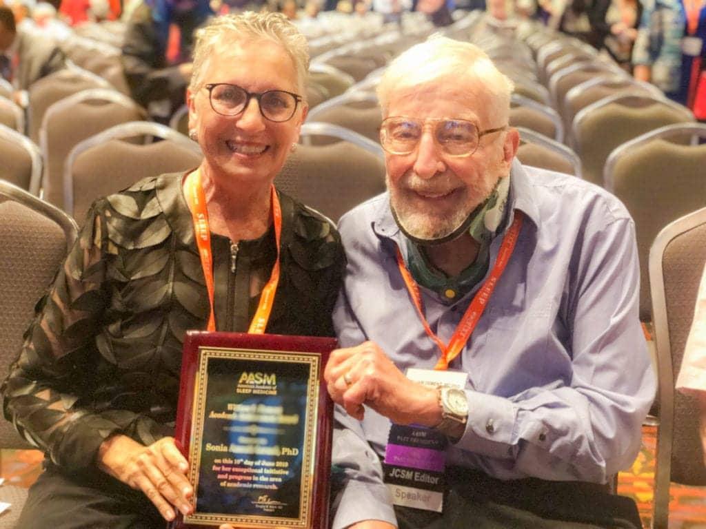 Sonia Ancoli-Israel Bill Dement SLEEP 2019 award