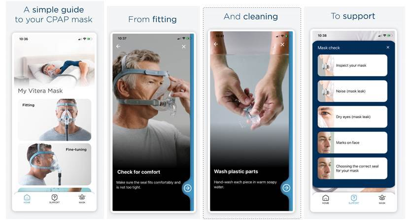 Fisher & Paykel Healthcare Launches myMask App for New CPAP Users