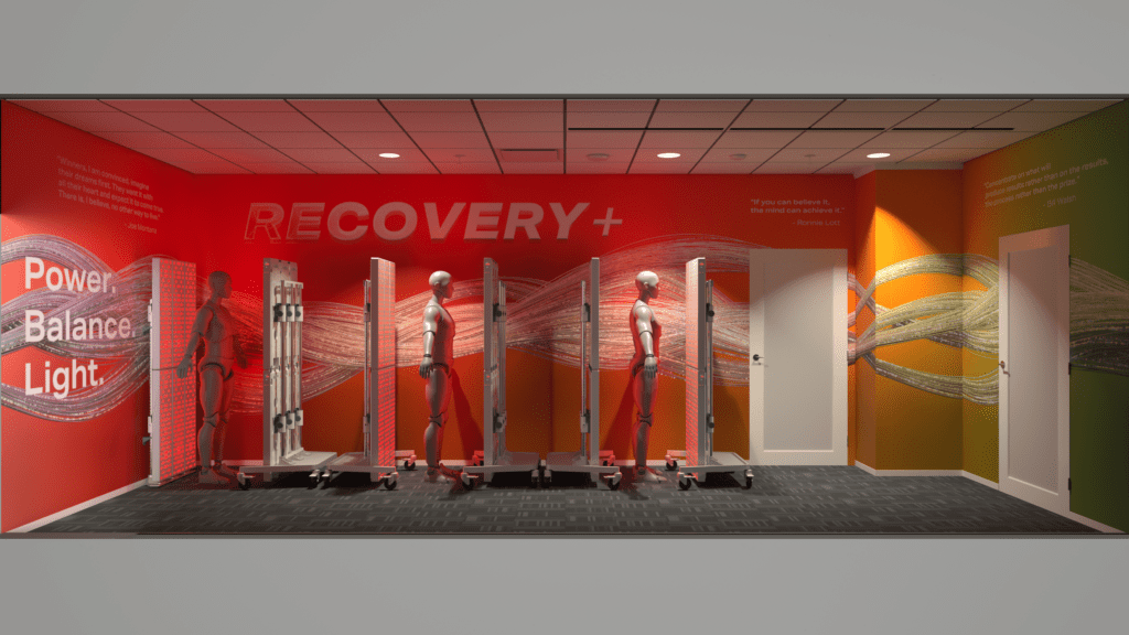 Joovv_49ers_light-therapy_room