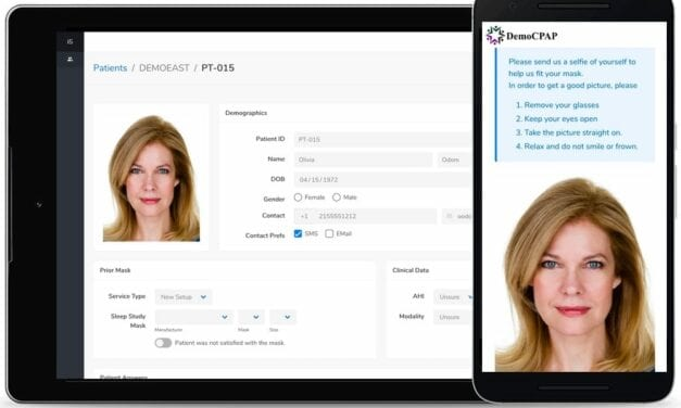 'TherapistAssist' Debuts for Remote CPAP Mask Selection