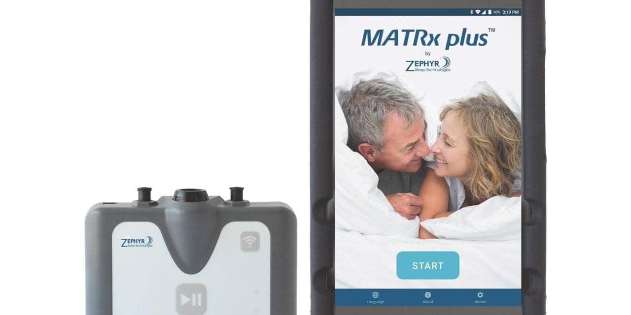 FDA: MATRx Plus Sleep Theragnostic Test OK Without Nasal Cannula